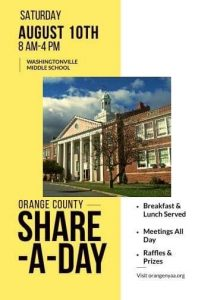 Share A Day 2019 @ Washingtonville Middle School